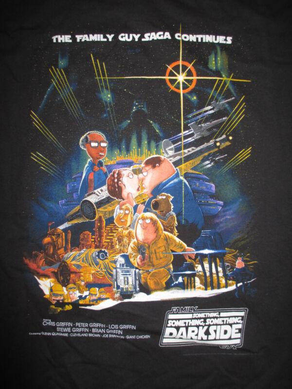 "THE FAMILY GUY SAGA CONTINUES ""DARKSIDE"" (XL) T-Shirt"