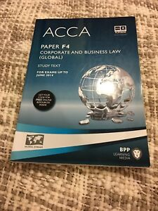 ACCA  paper F4 corporate and business law (study text)