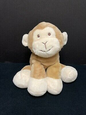 Hugfun Baby Cloud Monkey Floppy Plush Tan Cream Soft Toy Stuffed 256005 12""