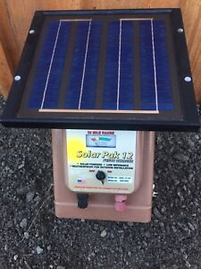 Parmak Solar powered electric fence power pack 50km