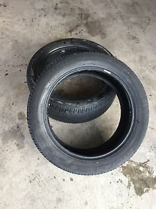 Two Bridgestone Dueler 245/50r20