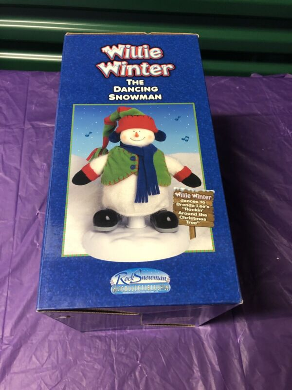 Willie Winter The Dancing Snowman Animated  Rockin Around The Christmas Tree