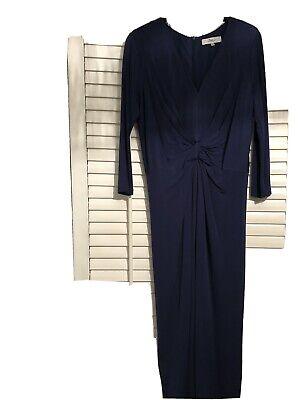 Issa Royal Blue Dress Size 12