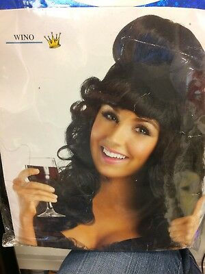 Wino Party Wig Adult Costume jersey girl