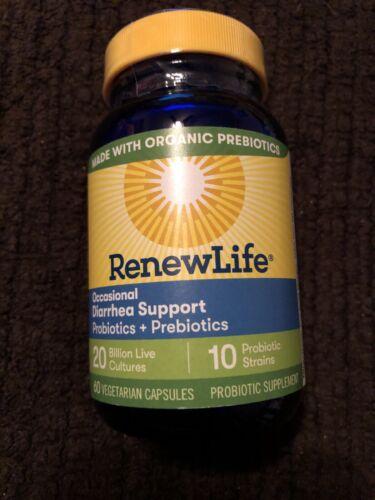 Renew Life Probiotics + Prebiotics Settle & Restore 20 Billi