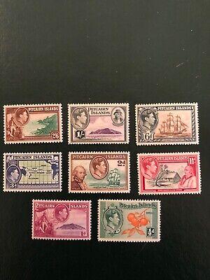 PITCAIRN ISLANDS stamps- Scott 1-8 MNH except 5A 6A cv$28
