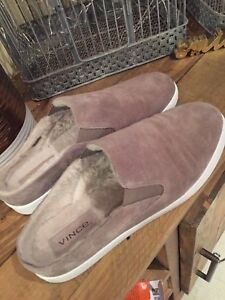 Vince BRAND NEW real fur shearling shoe