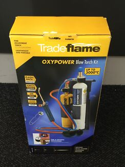 TRADE FLAME oxypower BLOW Torch Kit NEW Hampstead Gardens Port Adelaide Area Preview