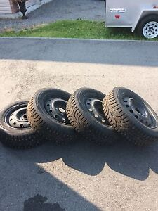 175/65r14 winter studded tires
