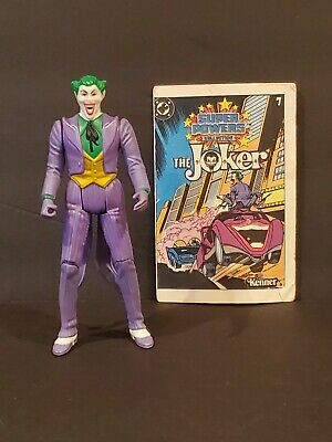 The Joker - DC Super Powers 1984 Vintage Kenner Action with Comic,  no mallett