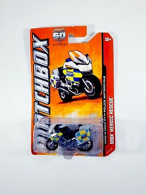 Matchbox #114 - BMW R-1200 RT-P Military Police Motorcycle MBX Heroic Rescue NEW
