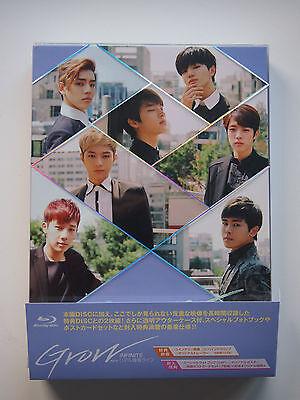 INFINITE Grow movie Japanese Blu-ray - Woohyun Myungsoo Sungyeol kpop bts exo