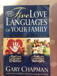 The Five Love Languages of Your Family by Gary Chapman Ashwood Monash Area Preview