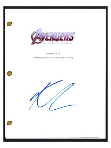 Karen Gillan Signed Autographed The Avengers Endgame Movie Script COA