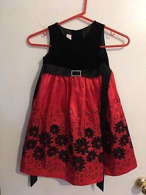 Lil Princess Children's Fancy Holiday Dress Size 3T
