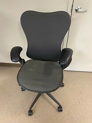 Herman Miller Mirra Office Chair Fully Adjustable Lumbar Support Adjustable Arms