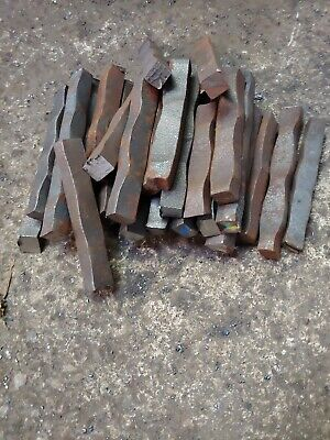 Hardy Tool A36 Blacksmith Anvil Forging Steel Hammered Metals Sq Bar Stock 12