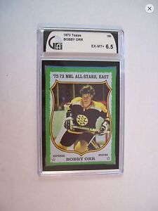 Two Bobby Orr Cards