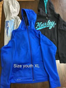 Size youth XL hoodies