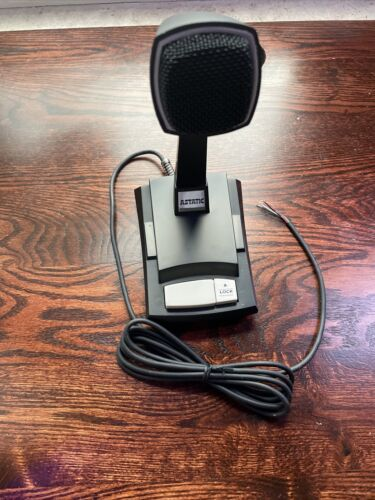 Astatic 878HL-2 Omnidirectional Dynamic Desktop Push to Talk Paging Microphone