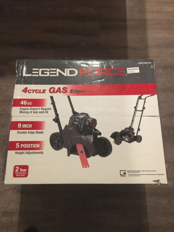 Legend Force 46 cc Gas Powered 4 Cycle Walk Behind Edger A063004
