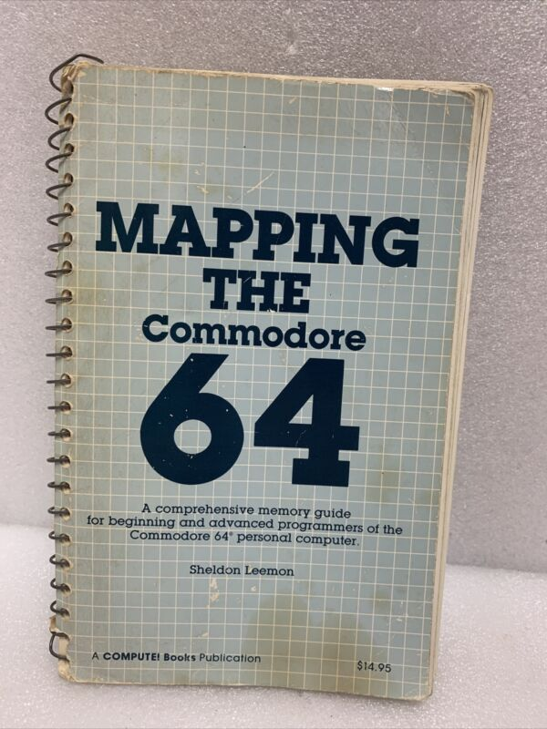 Mapping the Commodore 64 Book by Sheldon Leemon Rare Vintage Computing Reference