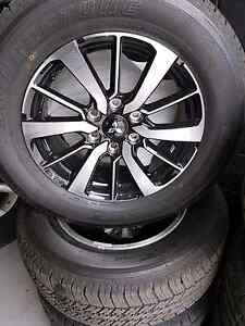 "Mitsubishi Pajero Sport 2016 18"" wheels and tyres Nerang Gold Coast West Preview"