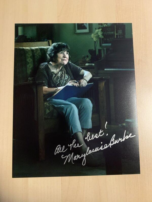 MARY LOUISE BURKE HAND SIGNED 8x10 PHOTO ACTRESS AUTOGRAPHED OZARK SHOW SUE COA