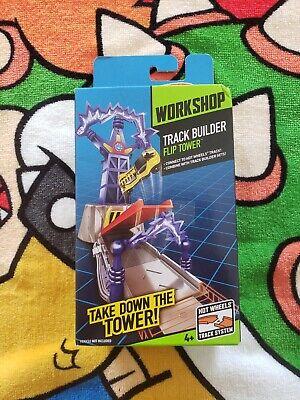 Hot Wheels Workshop Track Builder Flip Tower 2013 New!