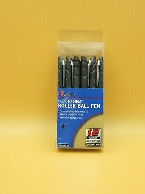 New Skilcraft Liquid Magnus Rollerball Pen0.7 Mmblackpk12