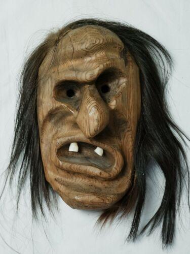 Iroquois False Face Mask - Native American