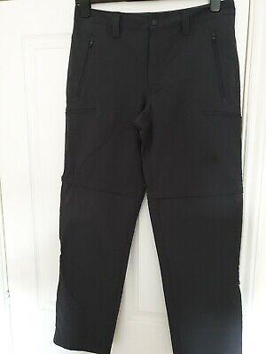 BNWT North Face Men's Exploration Convertible Pants - Asphalt Grey. 34 Regular.