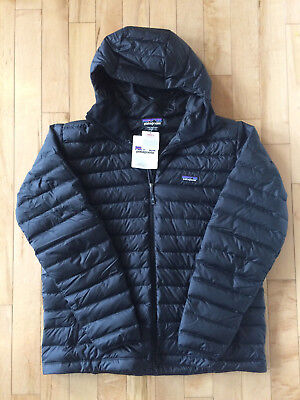 NEW Patagonia Down Sweater Hoody Jacket BLACK Mens XXL 2XL