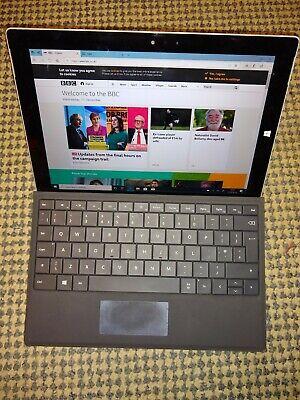 Microsoft Surface 3 Model 1645 Intel Atom x7-z8700 1.6GHz 4GB RAM 128GB SSD