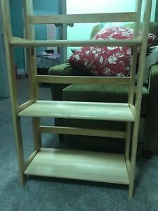 3 tiered folding shelf