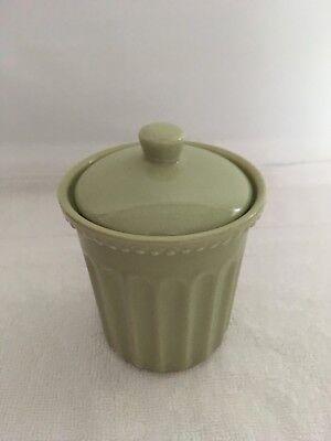 Cotton Holder  Ceramic Cotton Ball  Holder  Green  Cotton Ball Holder