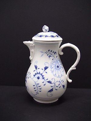 Meissen Blue Onion Coffee Pot - Swords Mark