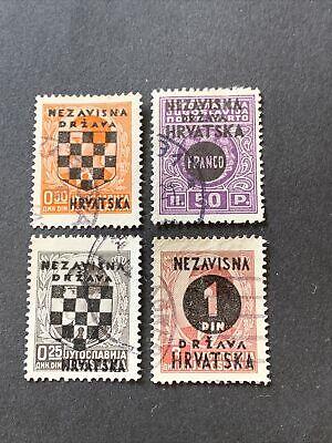 Croatia Stamps Used Lot