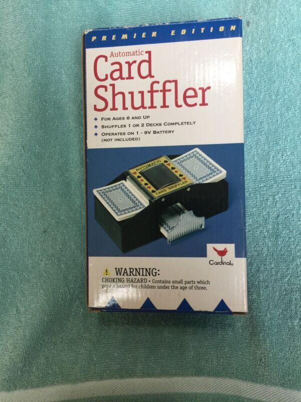 Cardinal Auto Matic Card Shuffler Shuffles 1 Or 2 Decks Completely