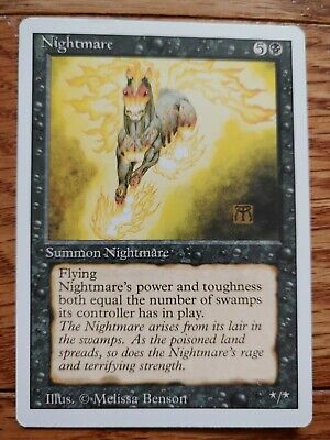 Magic the Gathering: NIGHTMARE: Revised: NM