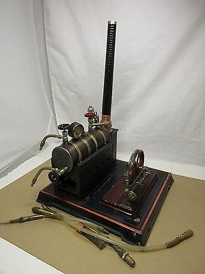BING antike Dampfmaschine liegend Dachbodenfund Speicherfund vintage steam