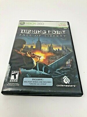 Used, Turning Point Fall of Liberty Xbox 360 Video Game CIB Complete for sale  Harker Heights