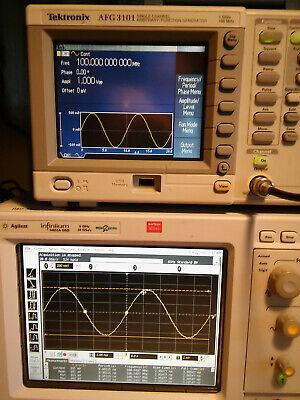 Tektronix Afg3101 100mhz 1gss Arbitrary Function Generator. Tested.