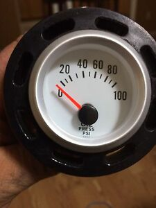 Oil pressure gage and mount for 2009 up f150