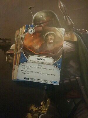 Star Wars Destiny Way of the Force - Complete Common Set - 57 Cards