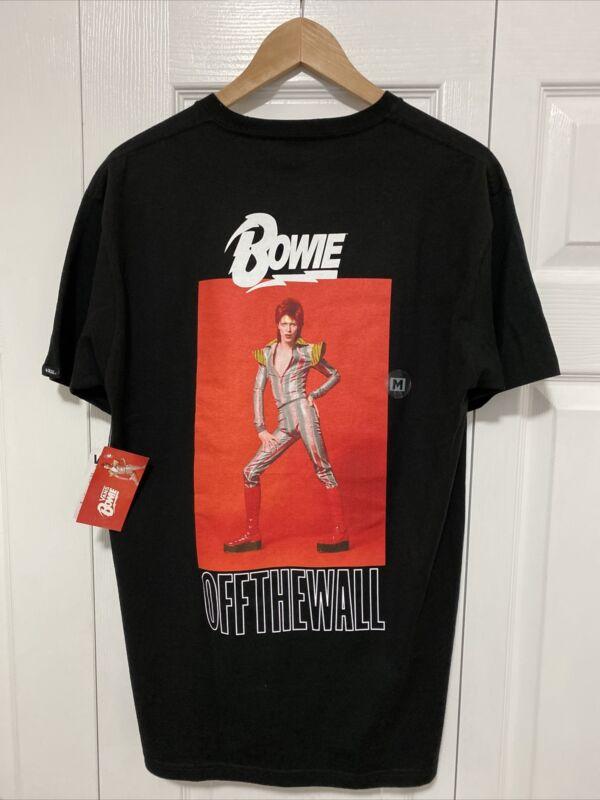 VANS X David Bowie ZIGGY STARDUST Medium (M) Short Sleeve T-Shirt Tee Sold Out