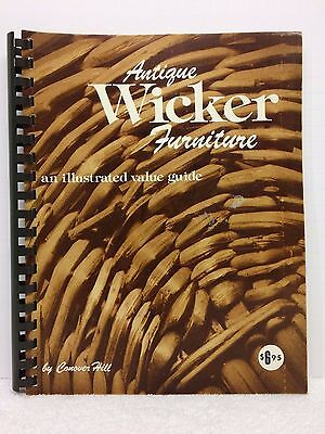 Antique WICKER FURNITURE Guide Value 1975 Victorian and more by Conover Hill