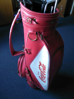 Vintage Coca-Cola Golf Bag