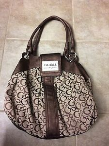 Authentic medium to large guess bag