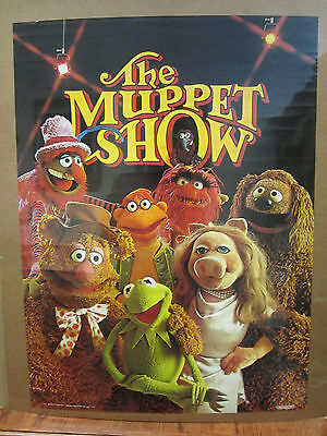 Vintage 1976 The Muppet Show poster muppet characters 5002
